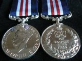 MILITARY MEDAL GVI FULL SIZE REPLACEMENT COPY MEDAL